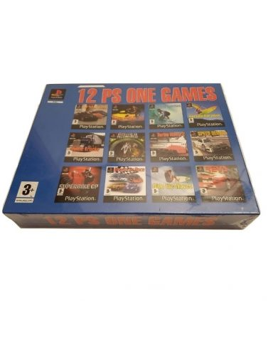 12 Psone Games Bleu