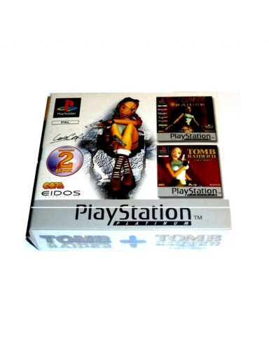 Coffret 2 jeux Platinum Eidos – Tomb raider I & II