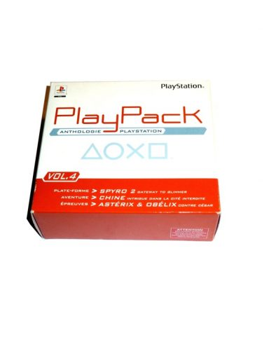Playpack anthologie playstation Vol.4
