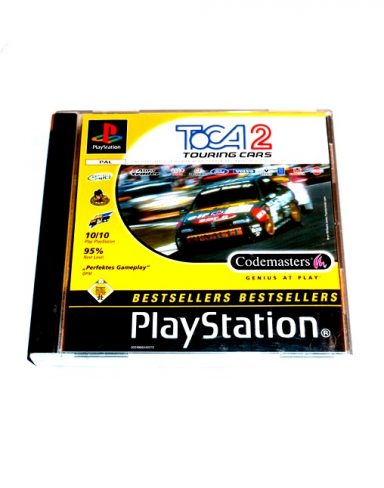 Toca 2 – Touring Cars #White cover
