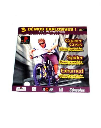 CD Consoles N°35 – 3 Démos explosives ! Vol.1