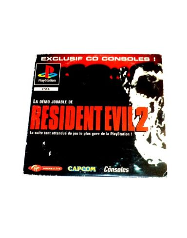 CD Consoles N°38 – Demo Resident evil 2