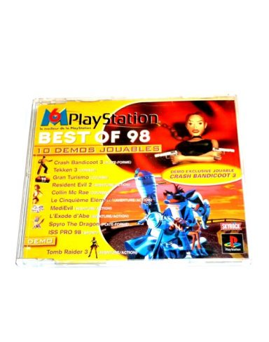 M6 Playstation best of 98