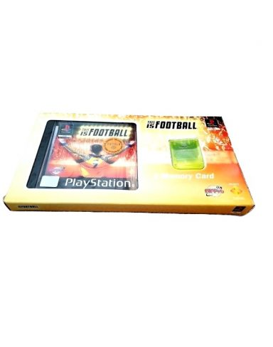 This is football Memory card pack