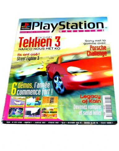 Playstation magazine N°07