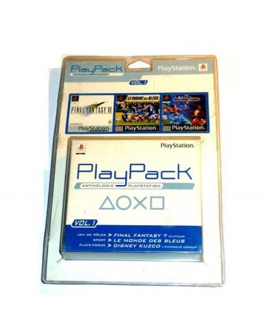 Playpack anthologie playstation Vol.1